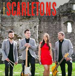 The Scarletons Wedding Band